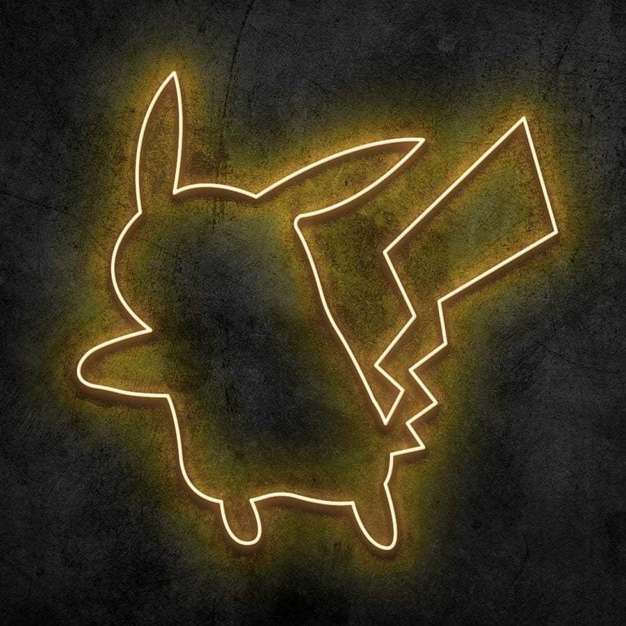 Pika Neon Sign