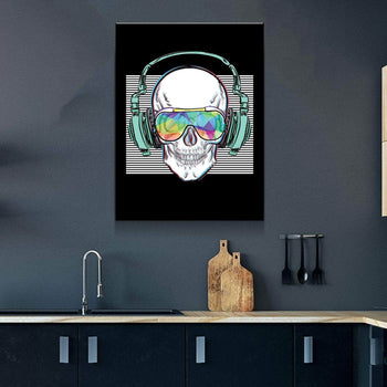 Skull Jams Canvas Set