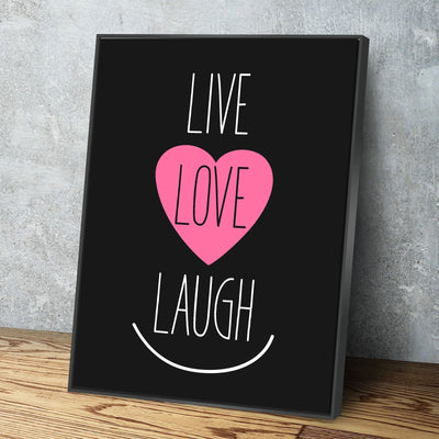 Live Love Laugh 11 x 14 Canvas Set (Free Shipping)