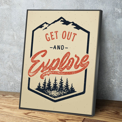 Get Out 11 x 14 Canvas Set (Free Shipping)