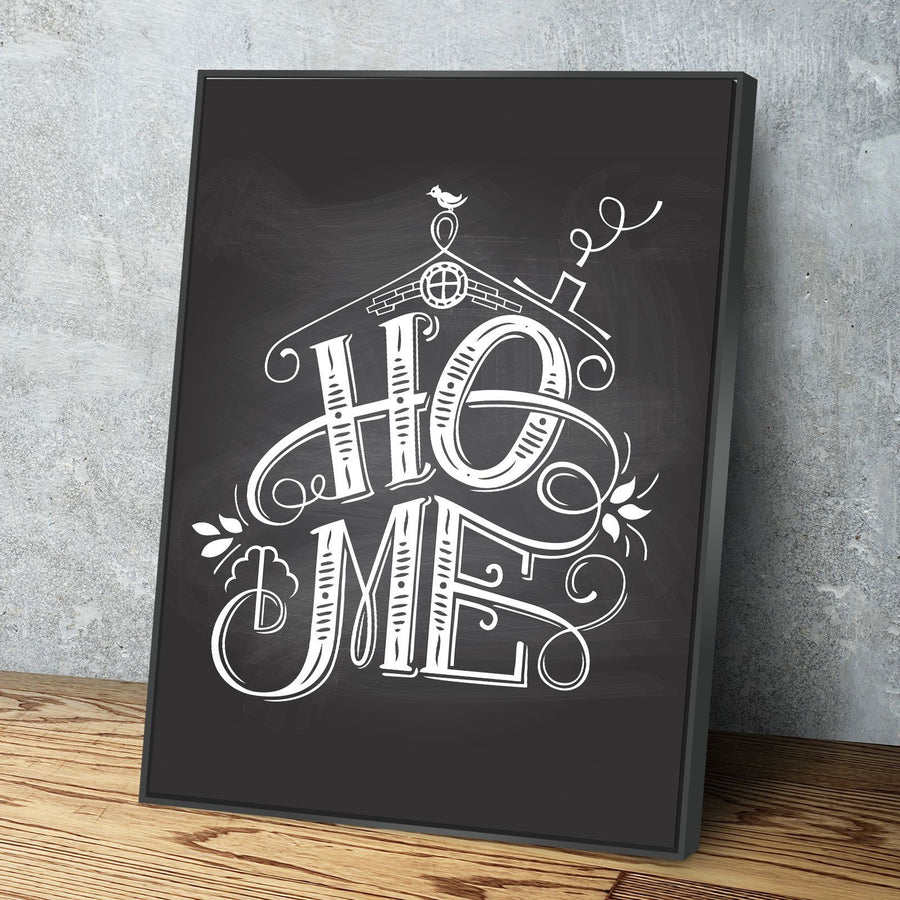 Home Chalk Canvas Set