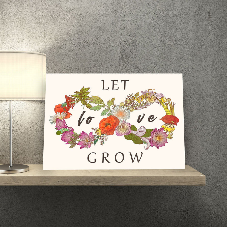 Let Love Grow 11 x 14 Canvas Set
