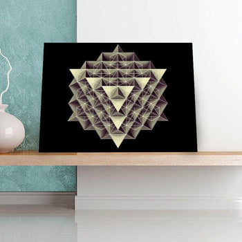 Isometric 11 x 14 Canvas Set
