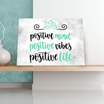 Positive Mind 11 x 14 Canvas Set (Free Shipping)