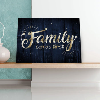 Family First 11 x 14 Canvas Set