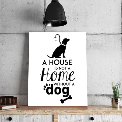 Dog Home 11 x 14 Canvas Set (Free Shipping)