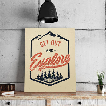 Get Out 11 x 14 Canvas Set