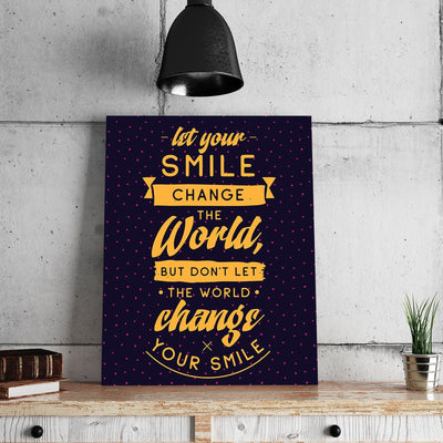 Smile 11 x 14 Canvas Set (Free Shipping)