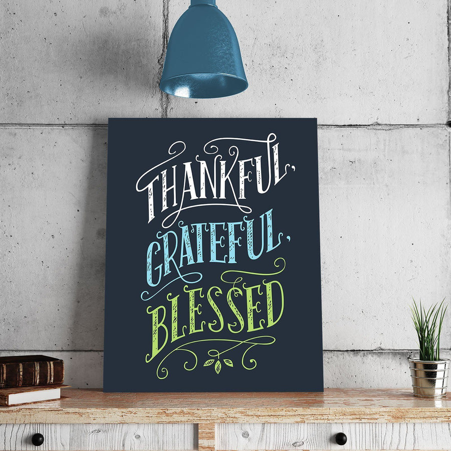 Thankful 11 x 14 Canvas Set