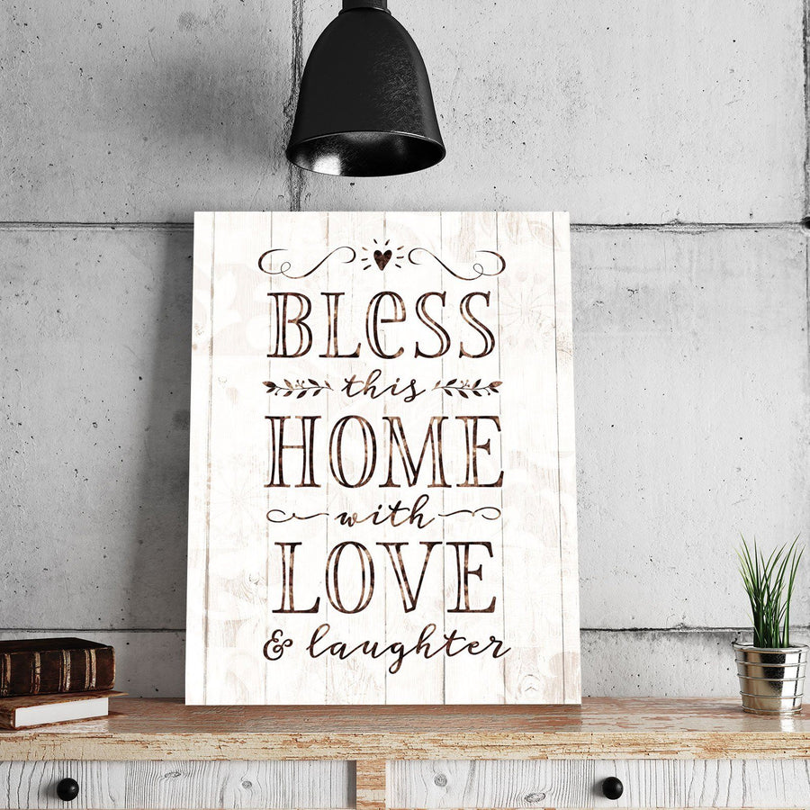 Bless This Home 11 x 14 Canvas Set