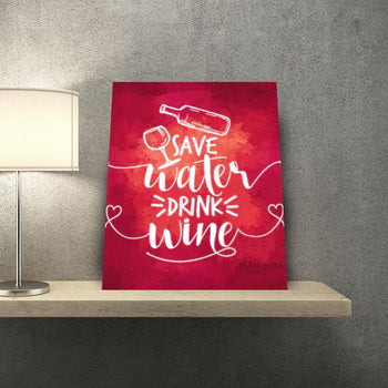 Save Water 11 x 14 Canvas Set