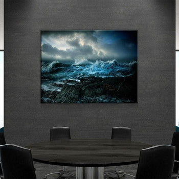 Oceans Wrath Canvas Set