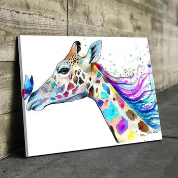 Giraffe Canvas Set
