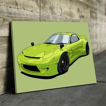 Mazda RX7 FD Canvas Set