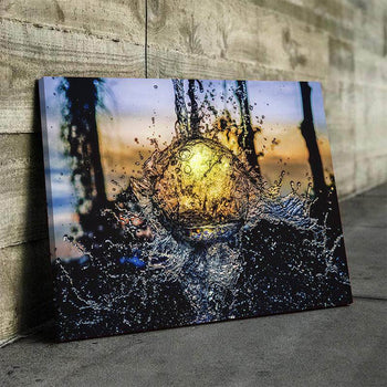 Water Ball Canvas Set