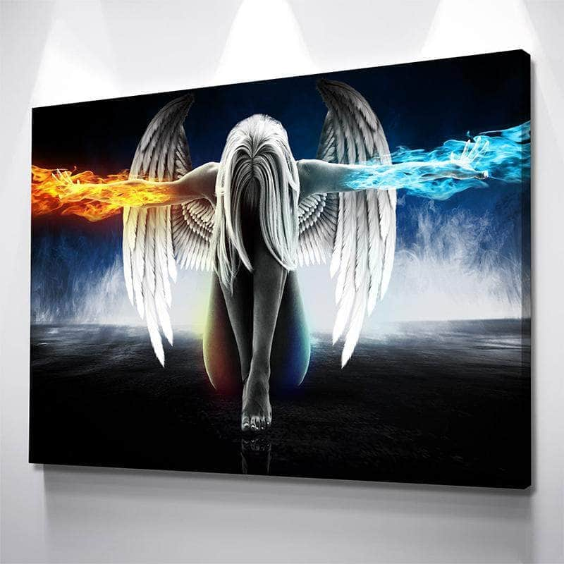 Angel Fire & Ice Canvas Set