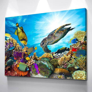 The Sea Life Canvas Set