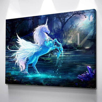 Unicorn Canvas Set