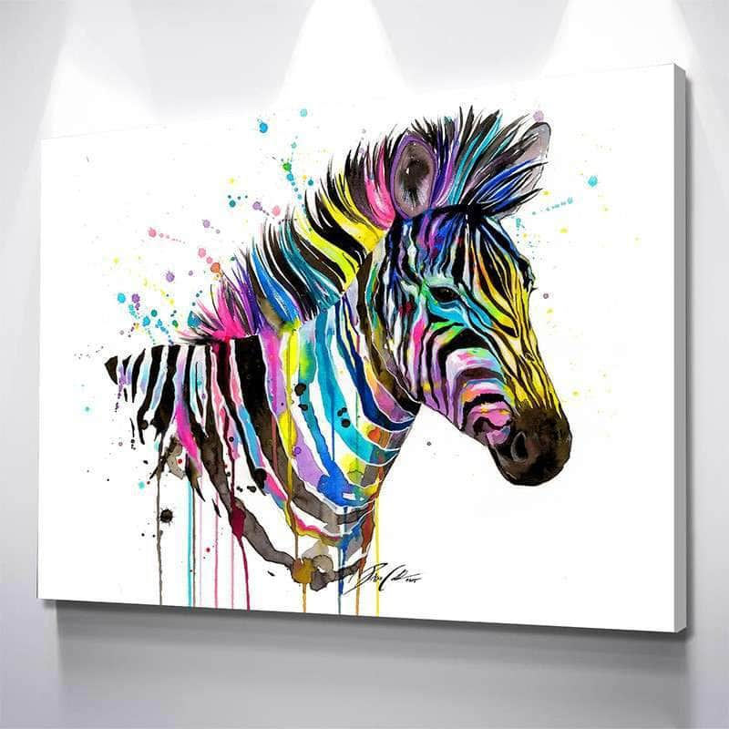 Zebra Canvas Set