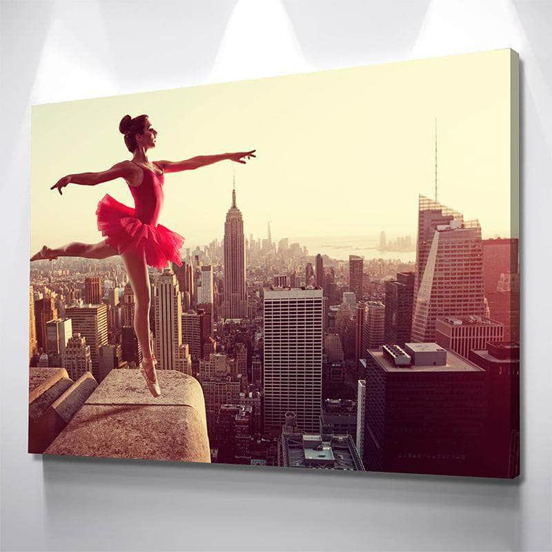 Skyscraper Ballerina Canvas Set