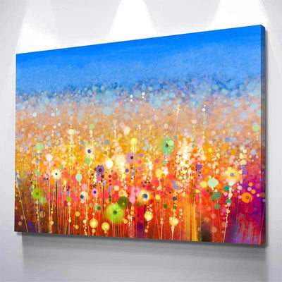 Watercolor Blossoms Canvas Set
