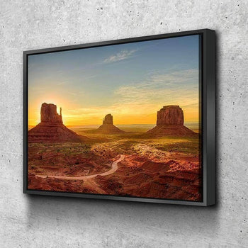 Monument Valley Canvas Set