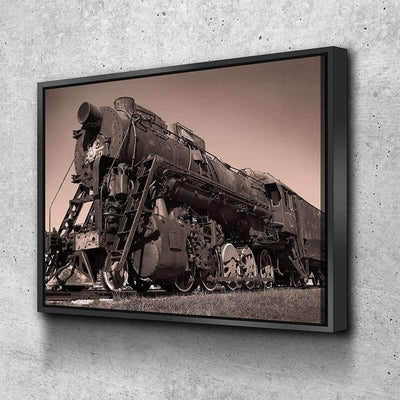 Steam Train Canvas Set