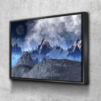 Unreal Mountains Canvas Set
