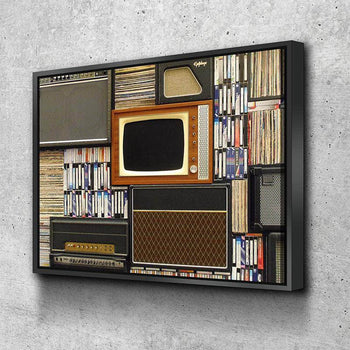 Vintage VHS Canvas Set