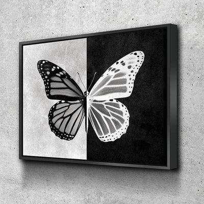 Butterfly Contrast Canvas Set