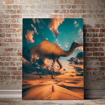 Camel Crossing Canvas Set