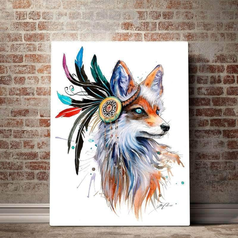 Nature Fox Canvas Set