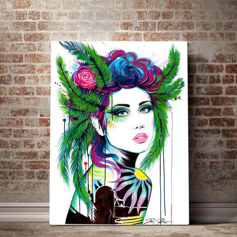 Paradise Pixie Cold Art Canvas Set