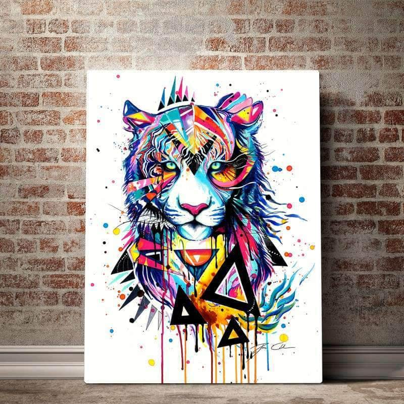 Pixie Tiger Canvas Set