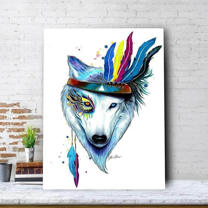 Wolf Spirit Canvas Set