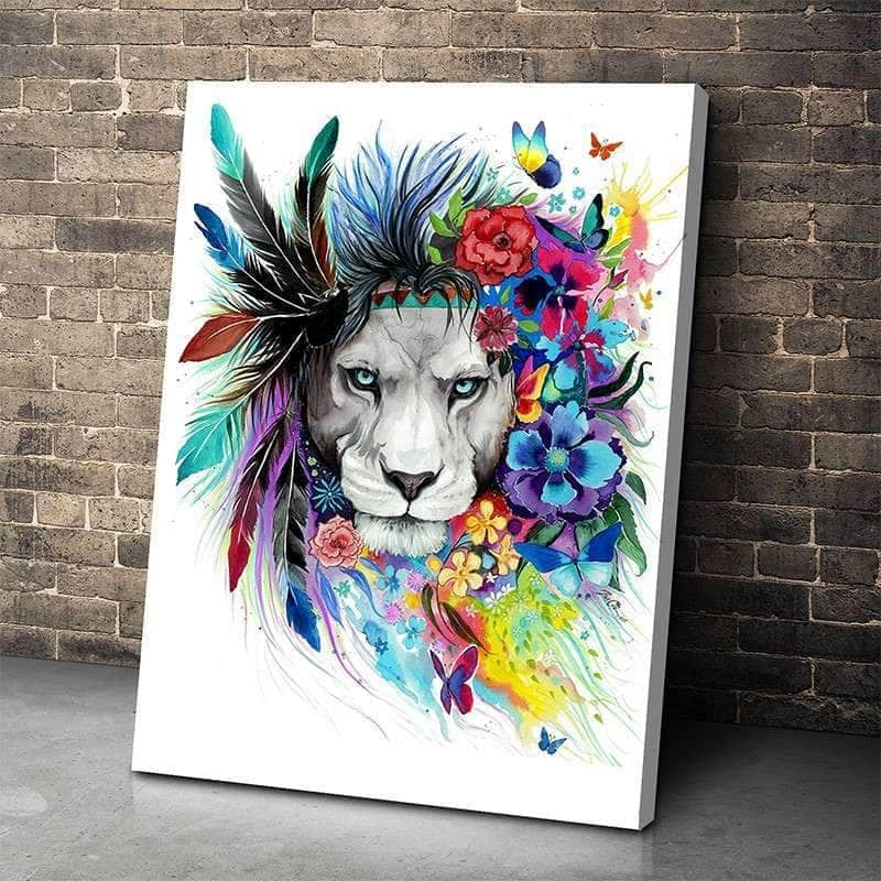 King of Lions Canvas Set