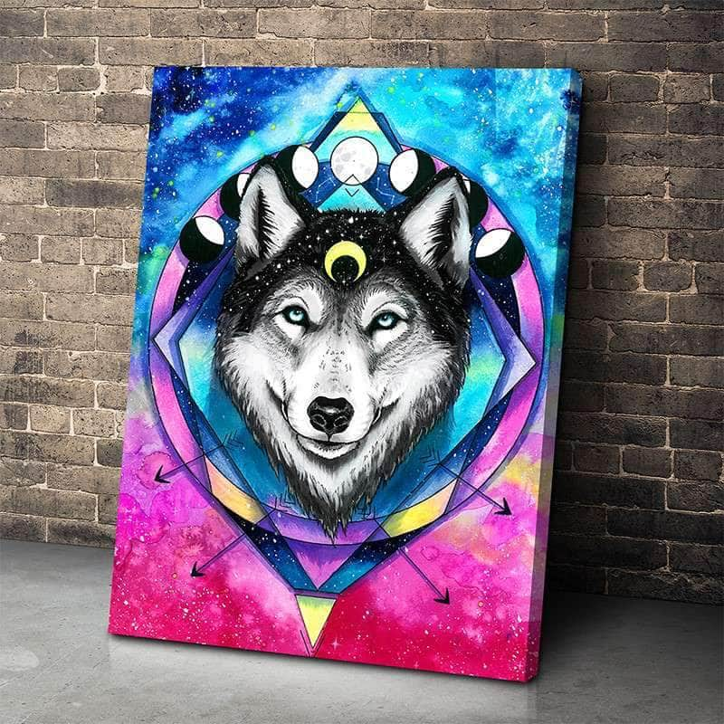 Sacred Wolf Canvas Set