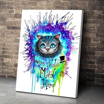 Cheshire Cat Canvas Set