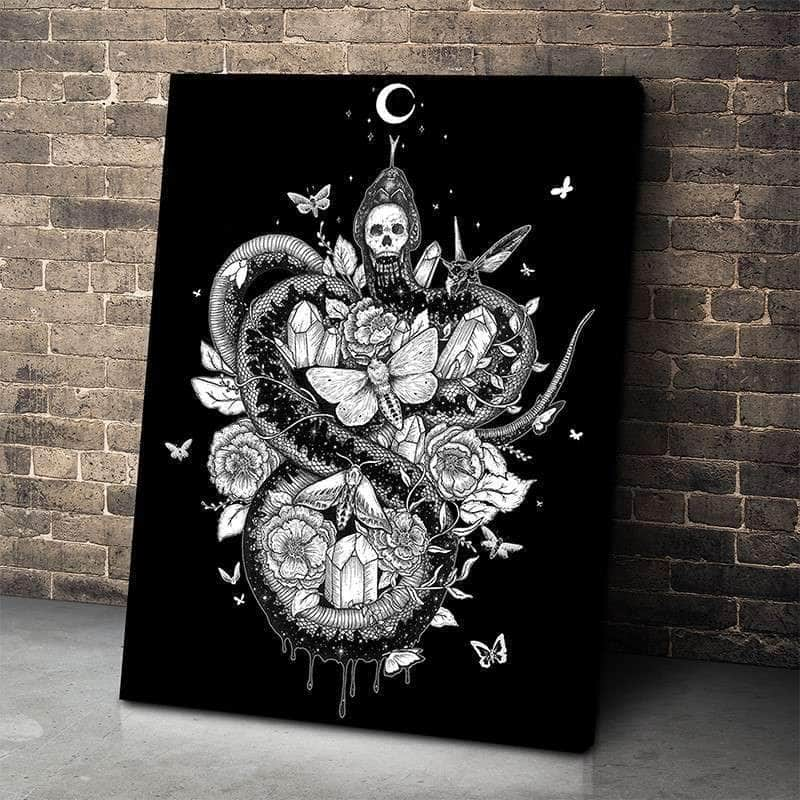 Snake Spirit Canvas Set