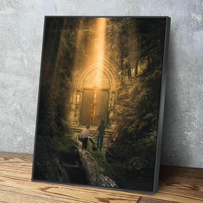 Secret Door Canvas Set