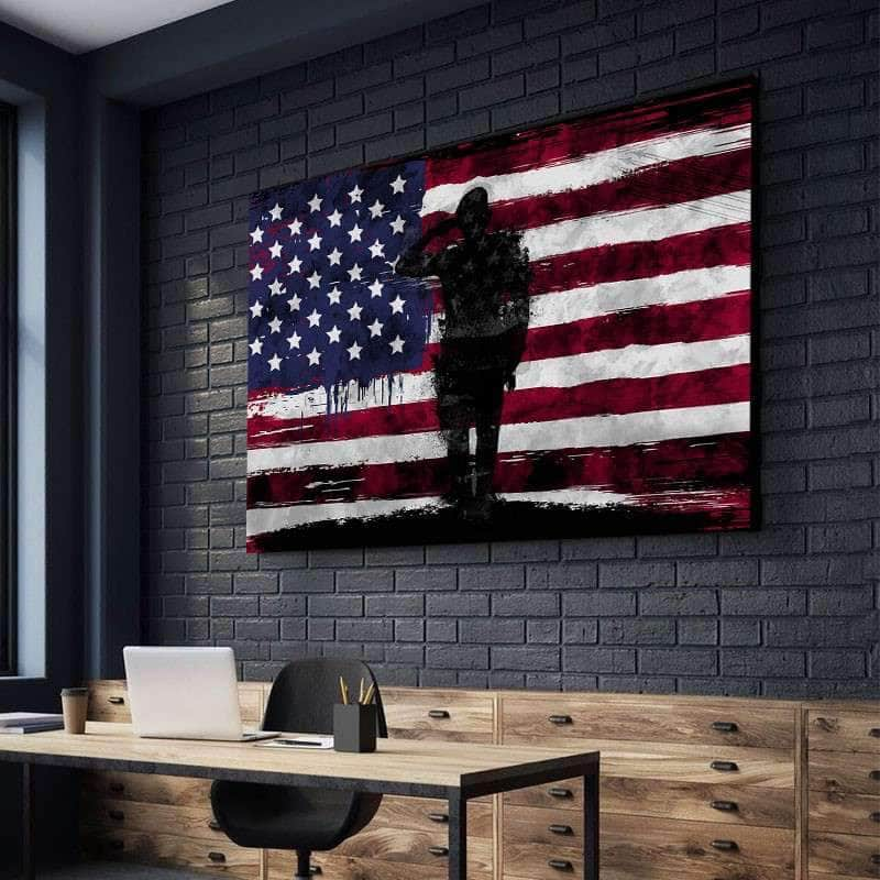 Veteran's Salute Canvas Set