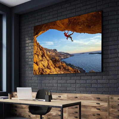 Overhang Rock Climb Canvas Set