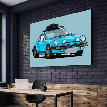 Porsche 911 Safari Canvas Set