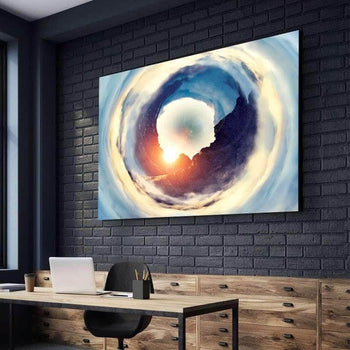 Hole In The Sky Canvas Set