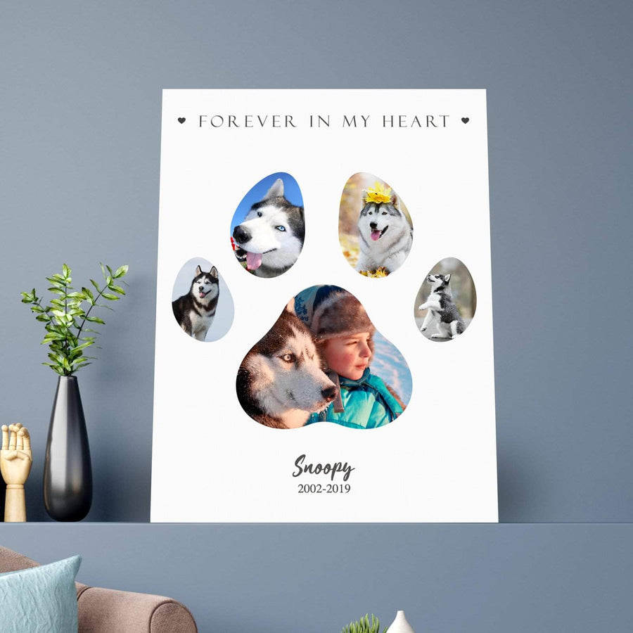 Paw Print Memories CUSTOM CANVAS SET