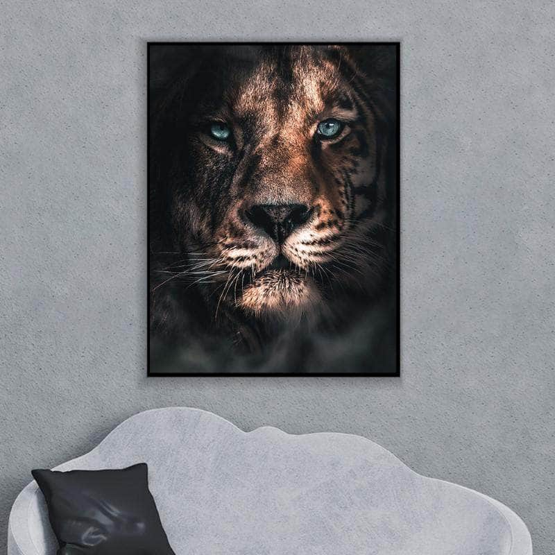Merged Lion Canvas Set