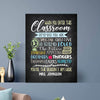 Enter the classroom Custom Canvas Set