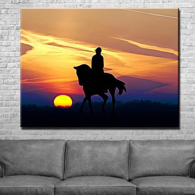 Horse Canvas Set
