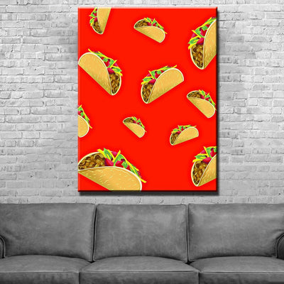Tacos Canvas Set