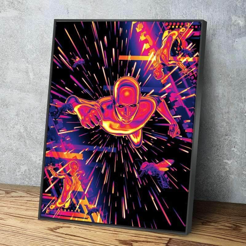 Superhuman Canvas Set